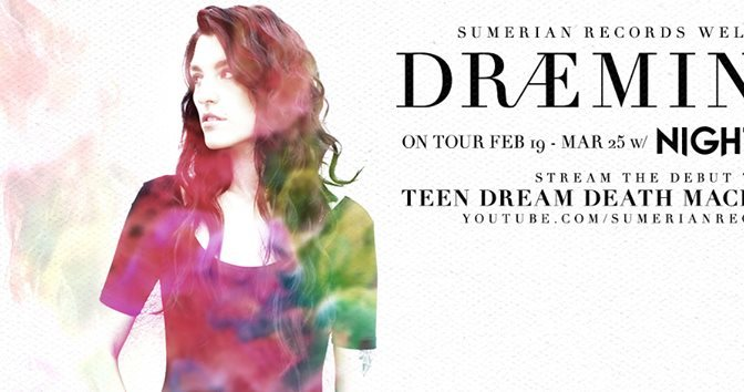 "PICK UP ARTIST + PREMIERE: ""TEEN DREAM DEATH MACHINE"" 【DRÆMINGS】"