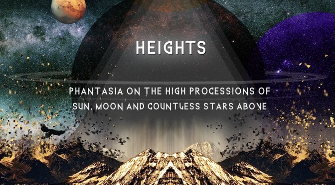 "PICK UP ARTIST + PREMIERE: ""SOLAR (BRINGER OF CHAOS), LUNAR (BRINGER OF LIGHTS) 【HEIGHTS】"