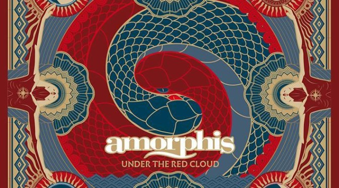 NEW DISC REVIEW + INTERVIEW 【AMORPHIS : UNDER THE RED CLOUD】
