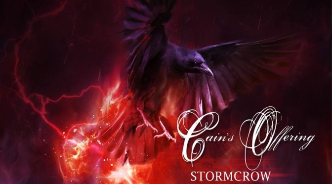 NEW DISC REVIEW + INTERVIEW 【CAIN'S OFFERING : STORMCROW】