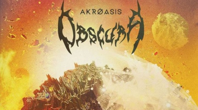 NEW DISC REVIEW + INTERVIEW 【OBSCURA : AKROASIS】