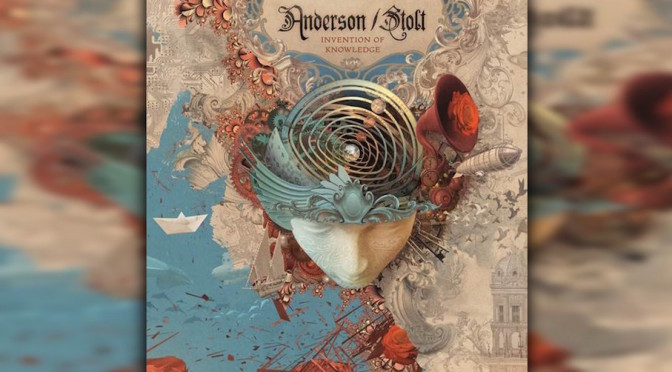 NEW DISC REVIEW + INTERVIEW 【ANDERSON / STOLT : INVENTION OF KNOWLEDGE】 JON ANDERSON SPECIAL !!