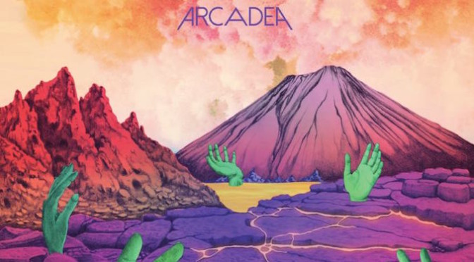 NEW DISC REVIEW + INTERVIEW 【ARCADEA : ARCADEA】