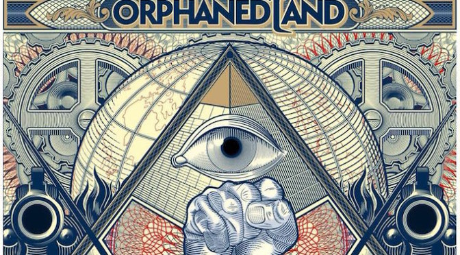 NEW DISC REVIEW + INTERVIEW 【ORPHANED LAND : UNSUNG PROPHETS & DEAD MESSIAHS】JAPAN TOUR 2018 SPECIAL !!