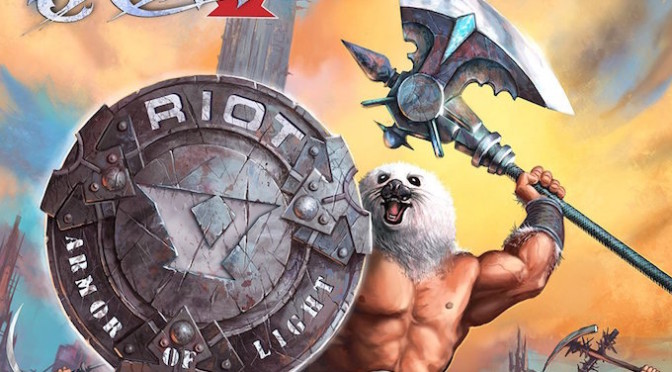 NEW DISC REVIEW + INTERVIEW 【RIOT V : ARMOR OF LIGHT】