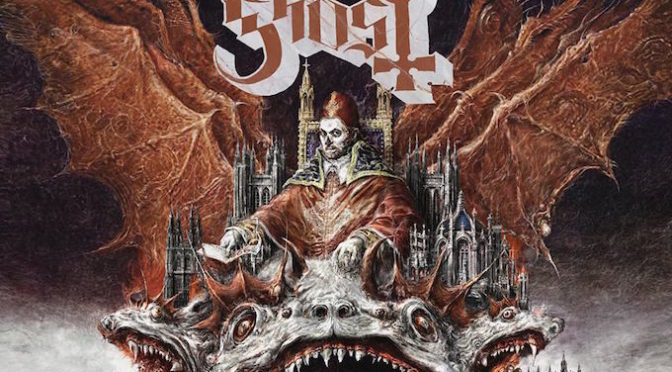 COVER STORY + NEW DISC REVIEW 【GHOST : PREQUELLE】