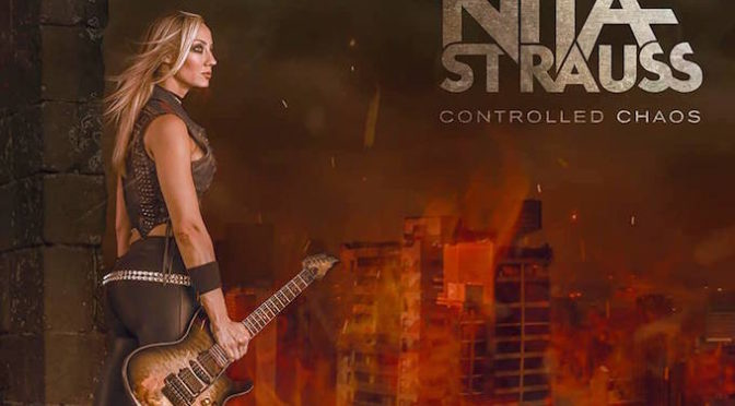 NEW DISC REVIEW + INTERVIEW 【NITA STRAUSS : CONTROLLED CHAOS】