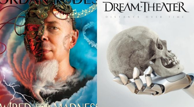 NEW DISC REVIEW + INTERVIEW 【JORDAN RUDESS : WIRED FOR MADNESS】【DREAM THEATER : DISTANCE OVER TIME】