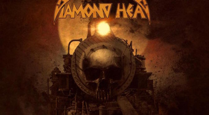 NEW DISC REVIEW + INTERVIEW 【DIAMOND HEAD : THE COFFIN TRAIN】