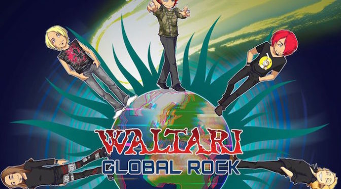 NEW DISC REVIEW + INTERVIEW 【WALTARI : GLOBAL ROCK】