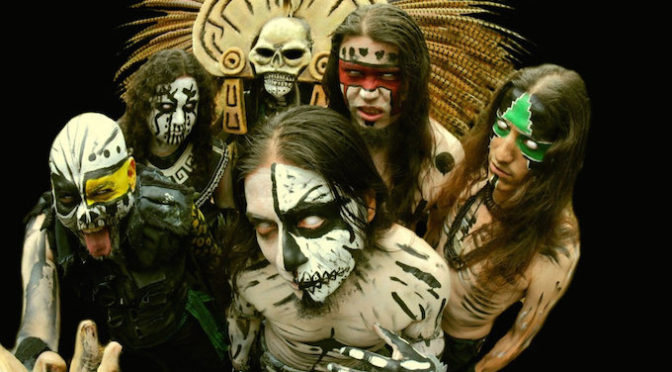 COVER STORY + INTERVIEW 【CEMICAN : IN OHTLI TEOYOHTICA IN MIQUIZTLI】AZTEC METAL SHAMAN FROM MEXICO