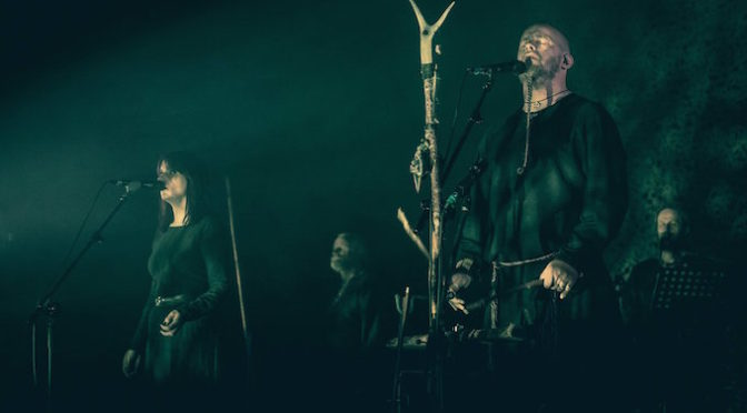 COVER STORY + NEW DISC REVIEW 【WARDRUNA : KVITRAVN】