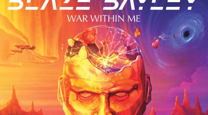 NEW DISC REVIEW + INTERVIEW 【BLAZE BAYLEY : WAR WITHIN ME】
